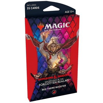 Booster Magic the Gathering Adventures in the Forgotten Realms - Booster Thématique - RED