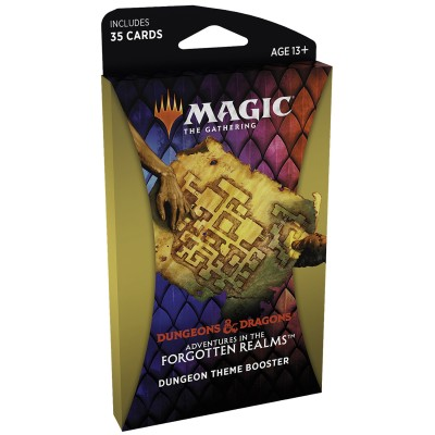 Booster Magic the Gathering Adventures in the Forgotten Realms - Booster Thématique - DUNGEON