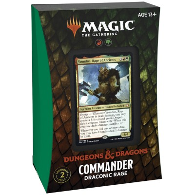 Deck Magic the Gathering Adventures in the Forgotten Realms - Commander - Draconic Rage