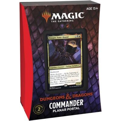 Deck Magic the Gathering Adventures in the Forgotten Realms - Commander - Planar Portal