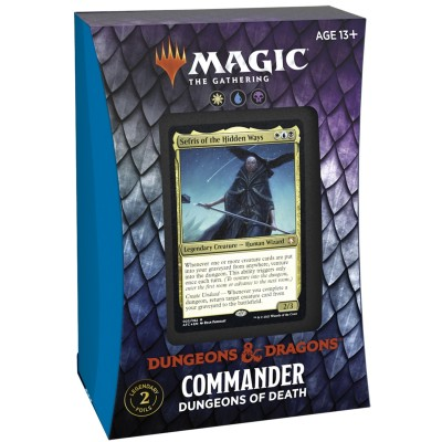 Deck Magic the Gathering Adventures in the Forgotten Realms - Commander - Dungeons of Death