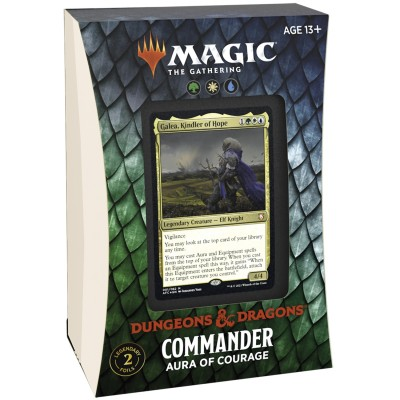 Deck Magic the Gathering Adventures in the Forgotten Realms - Commander - Aura of Courage