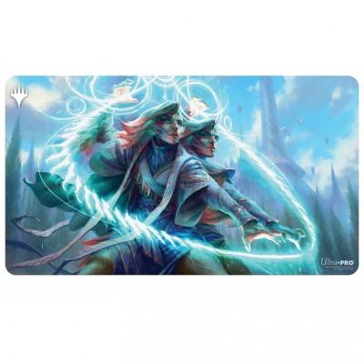 Tapis de Jeu Magic the Gathering Playmat - Adrix and Nev, Twincasters - 60cm x 34cm