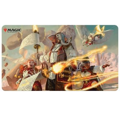 Tapis de Jeu Magic the Gathering Playmat - Lorehold Command - 60cm x 34cm