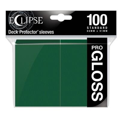 Protèges Cartes  100 pochettes - ECLIPSE Gloss - VERT