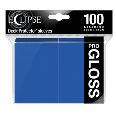 Protèges Cartes  100 pochettes - ECLIPSE Gloss - BLEU