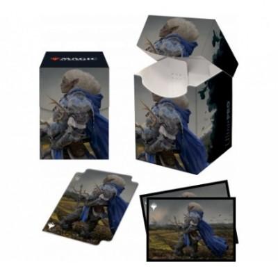 Boite de rangement illustrée Magic the Gathering Pack Adventures in the Forgotten Realms - Galea, Kindler of Hope