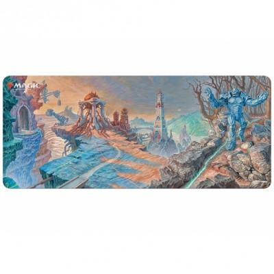 Tapis de Jeu Magic the Gathering Moyen Tapis de Draft - Urza Lands Panorama - 183cm x 76cm