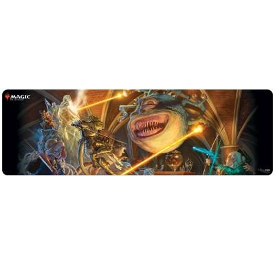 Tapis de Jeu Magic the Gathering Grand Tapis de Draft - The Party Fighting Xanathar - 230cm x 76cm (8 personnes)