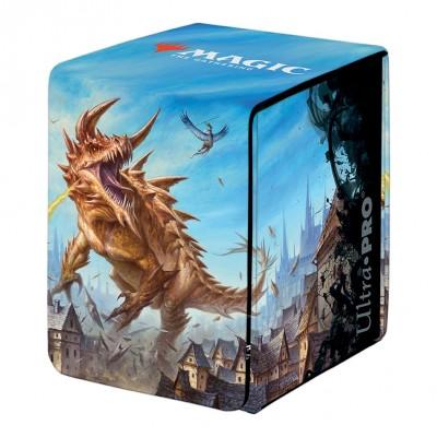 Boite de rangement illustrée Magic the Gathering Adventures in the Forgotten Realms - Alcove Flip Box - The Tarrasque