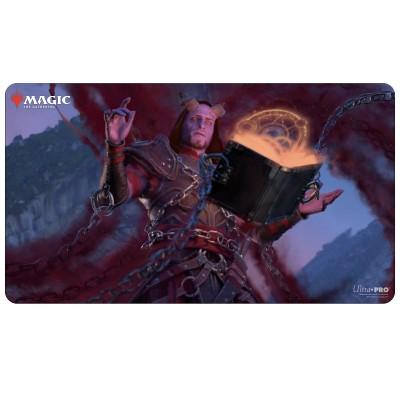 Tapis de Jeu Magic the Gathering Commander Adventures in the Forgotten Realms - Playmat - Prosper, Tome-Bound - 60cm x 34cm