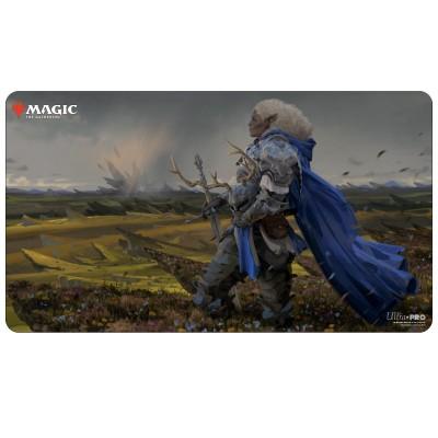 Tapis de Jeu Magic the Gathering Commander Adventures in the Forgotten Realms - Playmat - Galea, Kindler of Hope - 60cm x 34cm