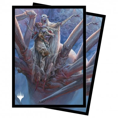 Protèges Cartes illustrées Magic the Gathering Adventures in the Forgotten Realms - Lolth, Spider Queen
