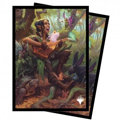 Protèges Cartes illustrées Magic the Gathering Adventures in the Forgotten Realms - Ellywick Tumblestrum