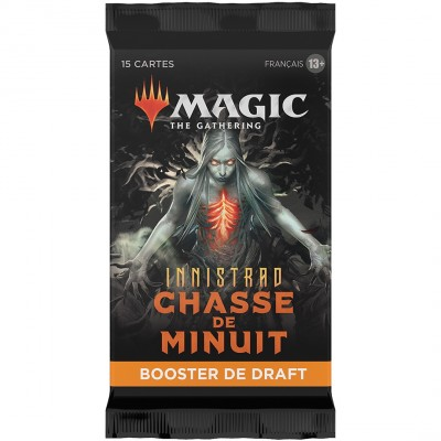 Booster Magic the Gathering Innistrad : chasse de minuit - Booster de draft