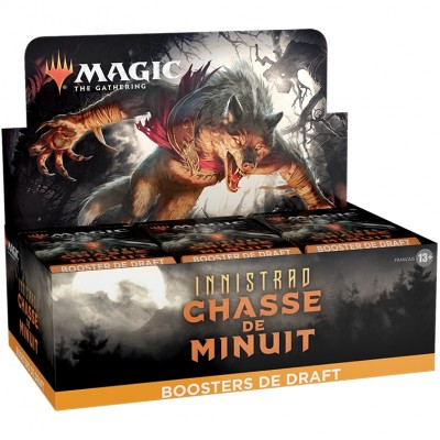 Boite de Boosters Magic the Gathering Innistrad : chasse de minuit - 36 Boosters de Draft