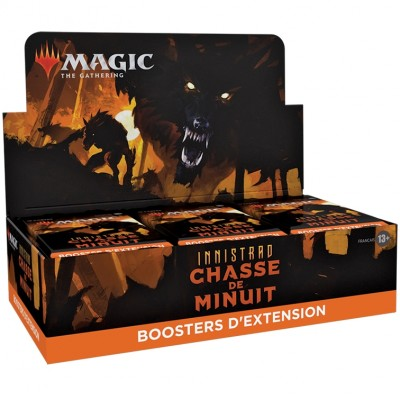 Boite de Boosters Magic the Gathering Innistrad : chasse de minuit  - 30 Boosters d'Extension