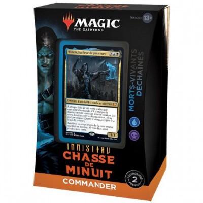 Deck Magic the Gathering Innistrad : chasse de minuit - Commander - Morts-vivants déchaînés (bleu-noir)