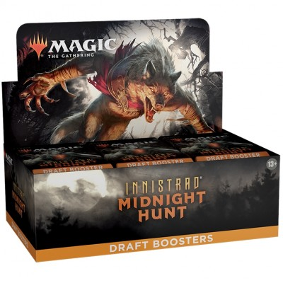 Boite de Boosters Magic the Gathering Innistrad: Midnight Hunt - 36 Draft Boosters