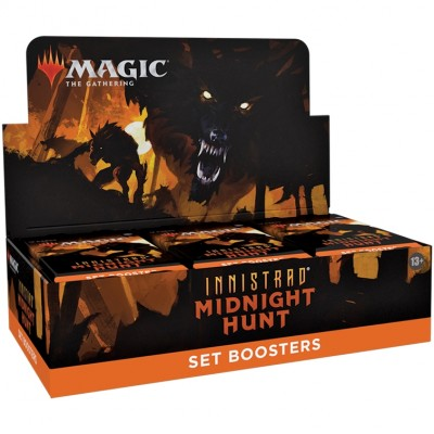Boite de Boosters Magic the Gathering Innistrad: Midnight Hunt - 30 Set Boosters