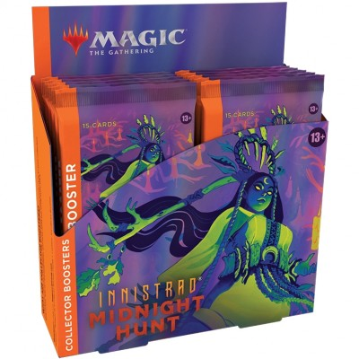 Boite de Boosters Magic the Gathering Innistrad: Midnight Hunt - 12 Collector Boosters