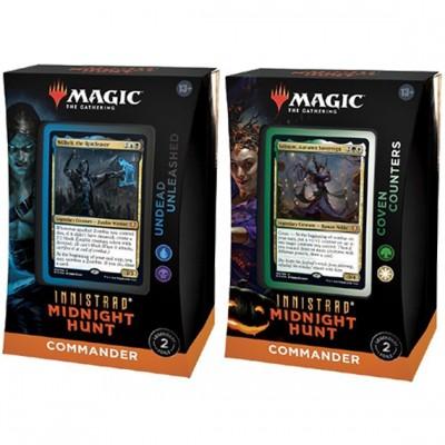 Deck Magic the Gathering Innistrad: Midnight Hunt - Commander - Lot de 2 différents