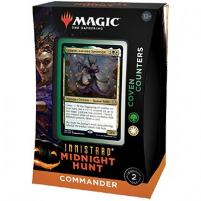 Deck Magic the Gathering Innistrad: Midnight Hunt - Commander - Coven Counters
