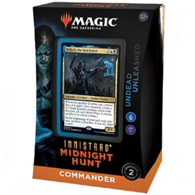 Deck Magic the Gathering Innistrad: Midnight Hunt - Commander - Undead Unleashed