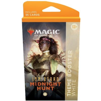 Booster Magic the Gathering Innistrad: Midnight Hunt - Theme Boosters - Blanc