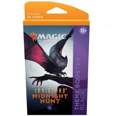 Booster Magic the Gathering Innistrad: Midnight Hunt - Theme Boosters - Noir