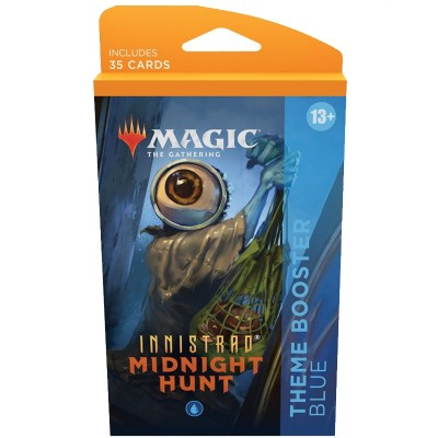 Booster Magic the Gathering Innistrad: Midnight Hunt - Theme Boosters - Bleu