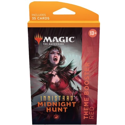 Booster Magic the Gathering Innistrad: Midnight Hunt - Theme Boosters - Rouge
