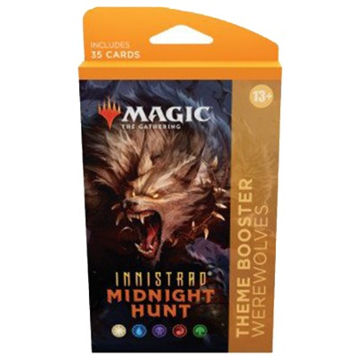 Booster Magic the Gathering Innistrad: Midnight Hunt - Theme Boosters - Loups-garous