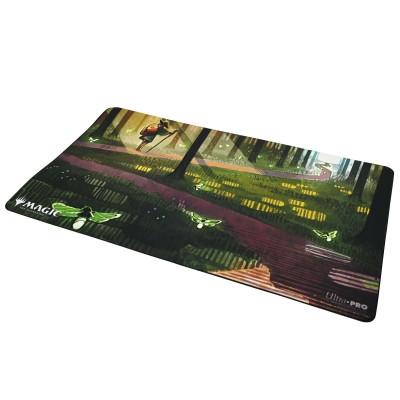 Tapis de Jeu Magic the Gathering Playmat - Strixhaven Archive Mystique - Impulsion Audacieuse - Récolte abondante - 60cm x 34cm