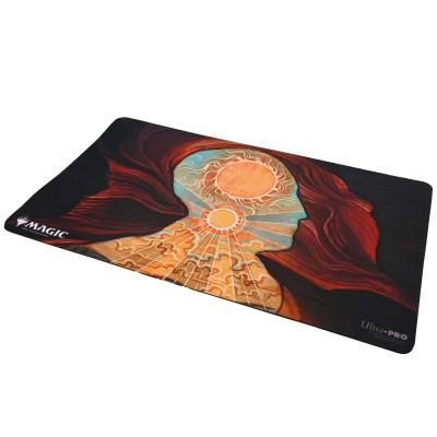 Tapis de Jeu Magic the Gathering Playmat - Strixhaven Archive Mystique - Approche du Second Soleil - 60cm x 34cm