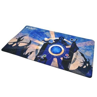 Tapis de Jeu Magic the Gathering Playmat - Strixhaven Archive Mystique - Zénith de Bleusoleil  - 60cm x 34cm