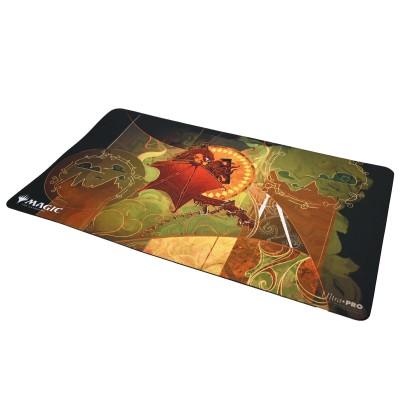 Tapis de Jeu Magic the Gathering Playmat - Strixhaven Archive Mystique - Distorsion chaotique - 60cm x 34cm