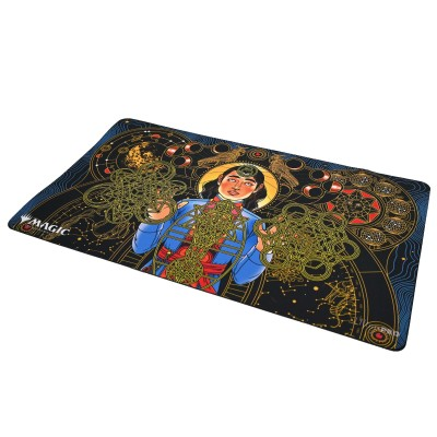 Tapis de Jeu Magic the Gathering Playmat - Strixhaven Archive Mystique - Recherche compulsive - 60cm x 34cm