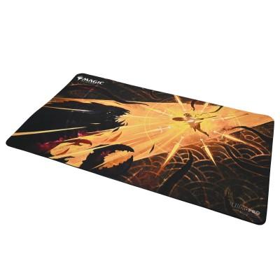 Tapis de Jeu Magic the Gathering Playmat - Strixhaven Archive Mystique - Frappe provocatrice - 60cm x 34cm
