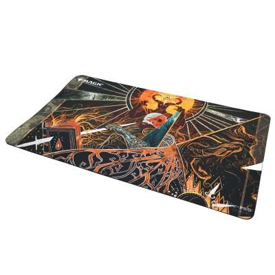 Tapis de Jeu Magic the Gathering Playmat - Strixhaven Archive Mystique - Précepteur diabolique - 60cm x 34cm