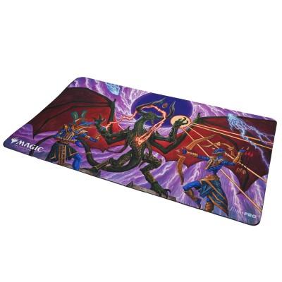 Tapis de Jeu Magic the Gathering Playmat - Strixhaven Archive Mystique - Suppression d'étincelle - 60cm x 34cm