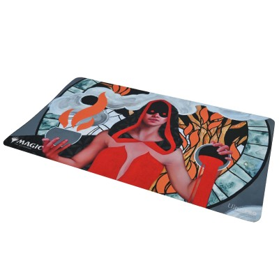 Tapis de Jeu Magic the Gathering Playmat - Strixhaven Archive Mystique - Pillage sans foi - 60cm x 34cm