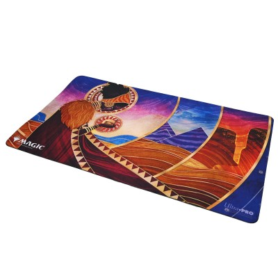 Tapis de Jeu Magic the Gathering Playmat - Strixhaven Archive Mystique - Don de domaines - 60cm x 34cm