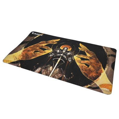 Tapis de Jeu Magic the Gathering Playmat - Strixhaven Archive Mystique - À la grâce des dieux - 60cm x 34cm