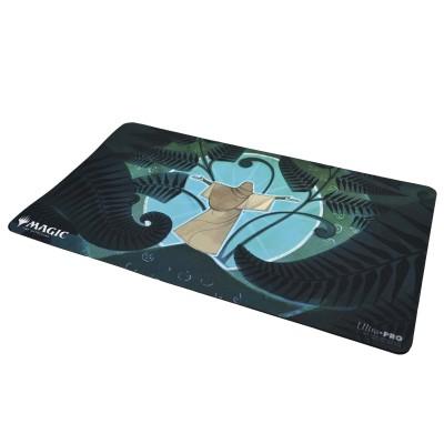 Tapis de Jeu Magic the Gathering Playmat - Strixhaven Archive Mystique - Spirale de croissance  - 60cm x 34cm