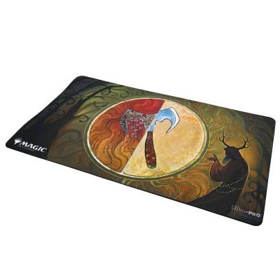 Tapis de Jeu Magic the Gathering Playmat - Strixhaven Archive Mystique - Poigne krosiane - 60cm x 34cm