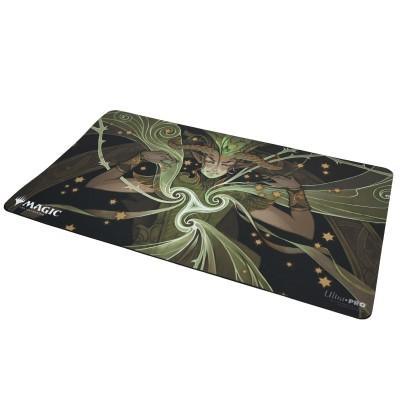 Tapis de Jeu Magic the Gathering Playmat - Strixhaven Archive Mystique - Commandement primordial - 60cm x 34cm