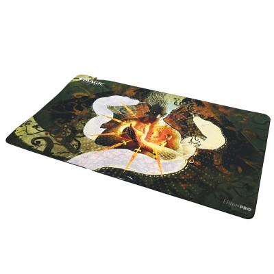 Tapis de Jeu Magic the Gathering Playmat - Strixhaven Archive Mystique - Voile en peau de serpent - 60cm x 34cm