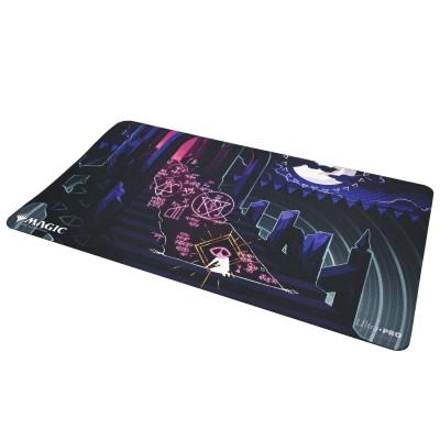 Tapis de Jeu Magic the Gathering Playmat - Strixhaven Archive Mystique - Pacte souillé - 60cm x 34cm