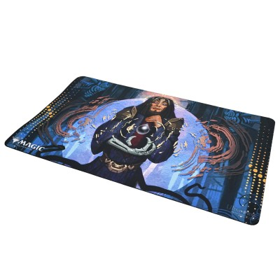 Tapis de Jeu Magic the Gathering Playmat - Strixhaven Archive Mystique - Pari de Tezzeret - 60cm x 34cm